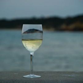 Dat glas halfvol